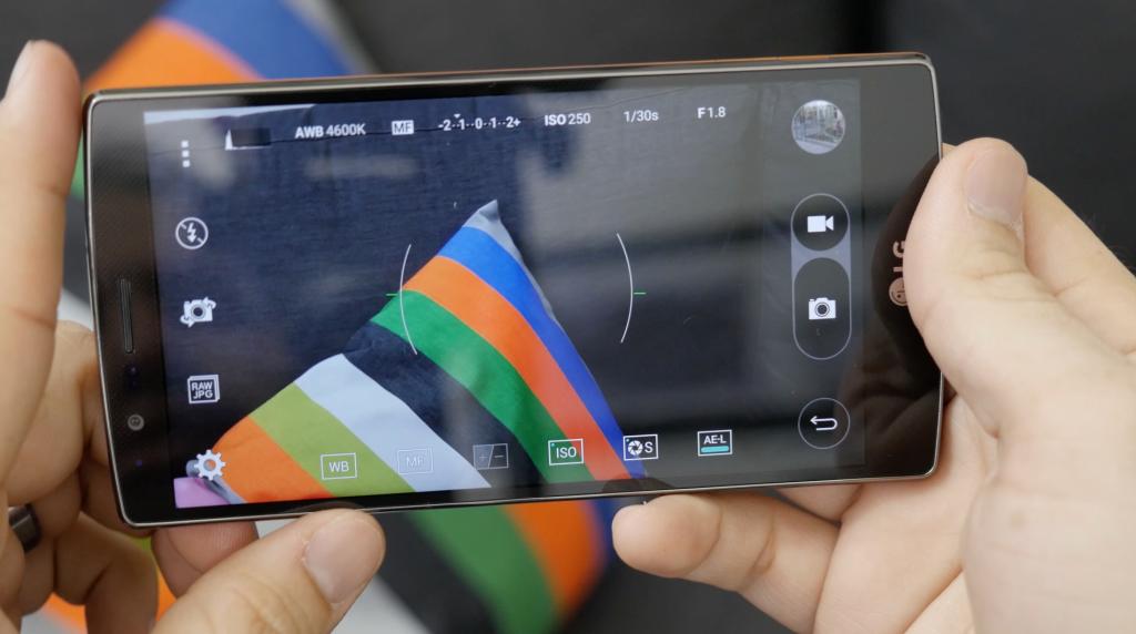 Câmera do LG G4