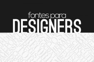 fontes para designers