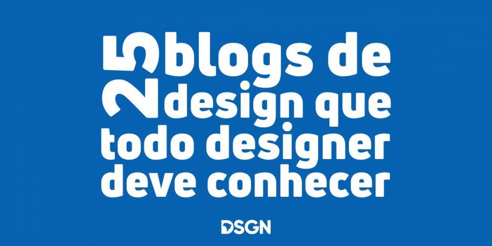 os melhores blogs de design