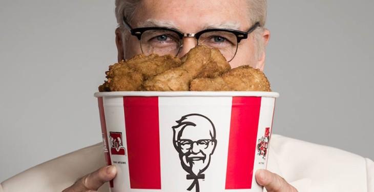 Nova identidade do KFC