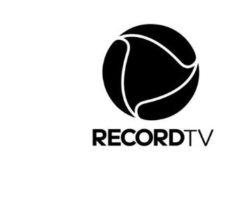 Logo da Record Monocromático
