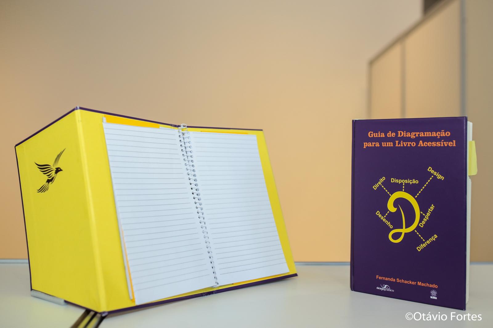 Livro criado por designer com Síndrome de Down