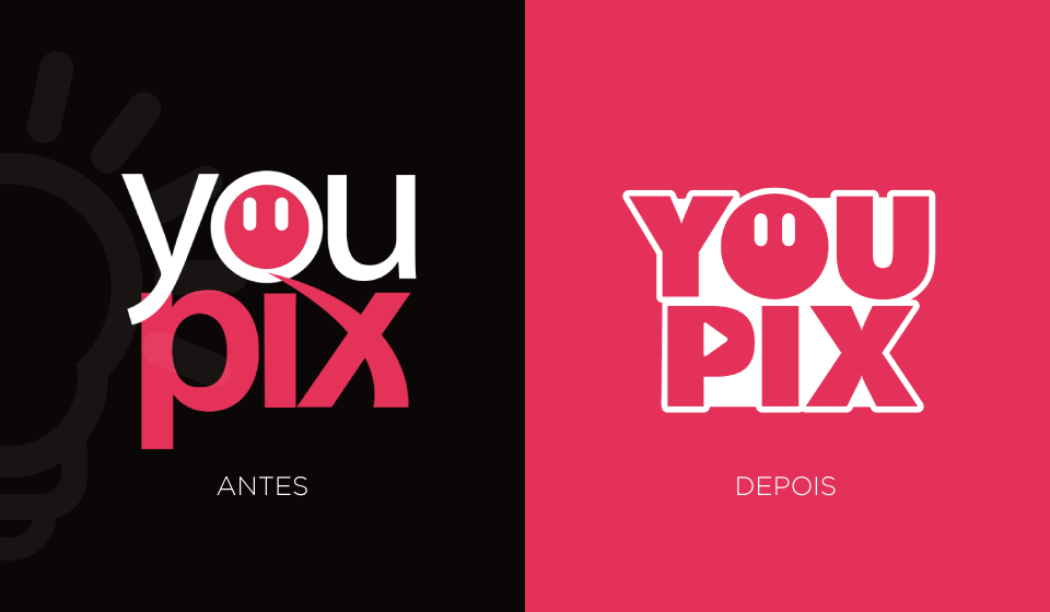 antes e depois youPIX