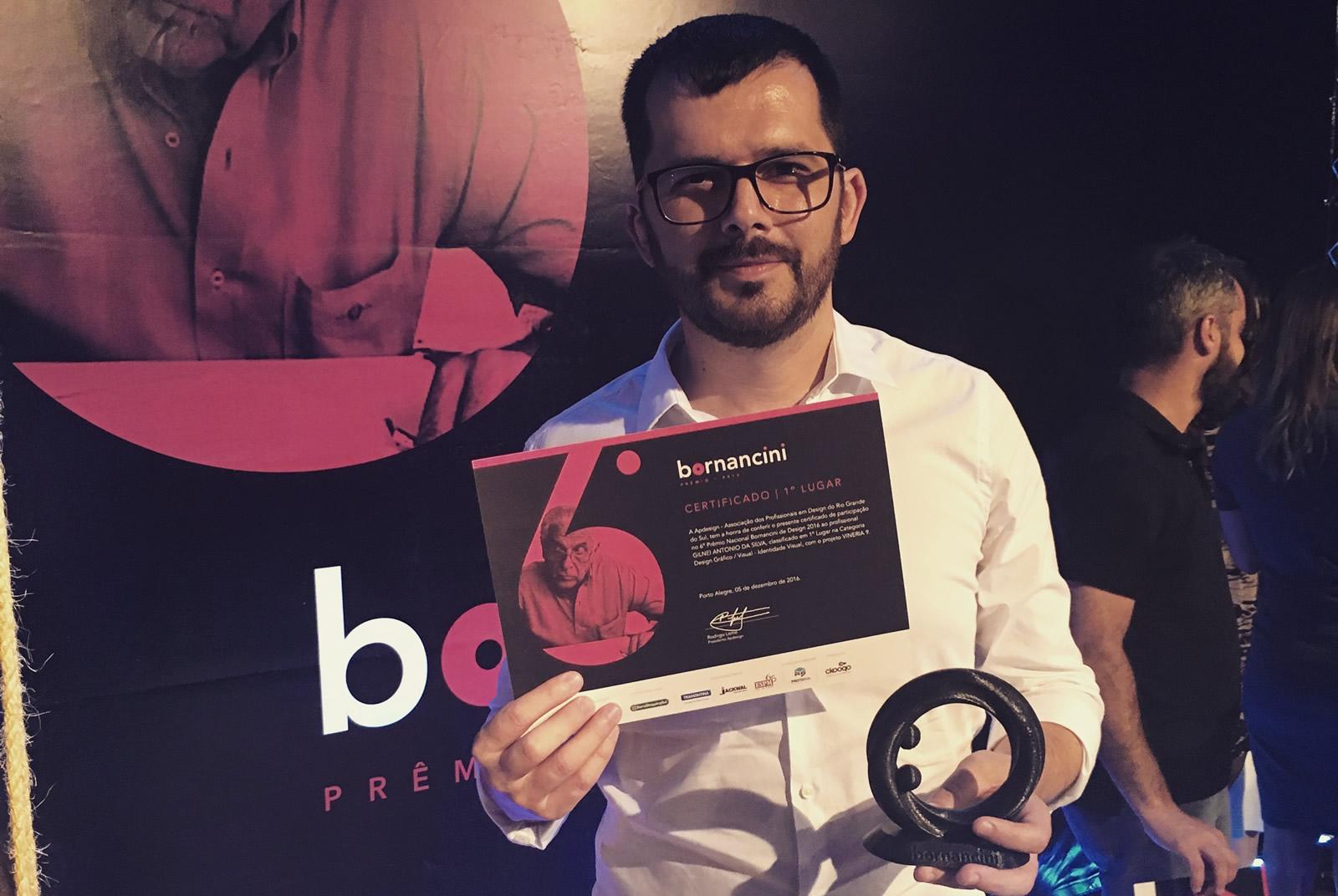 Gilnei Silva - Prêmio Bornancini
