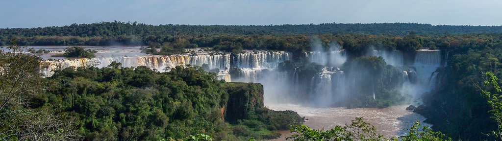 Falls do Iguacu panorama [Explore 6 January 2016]
