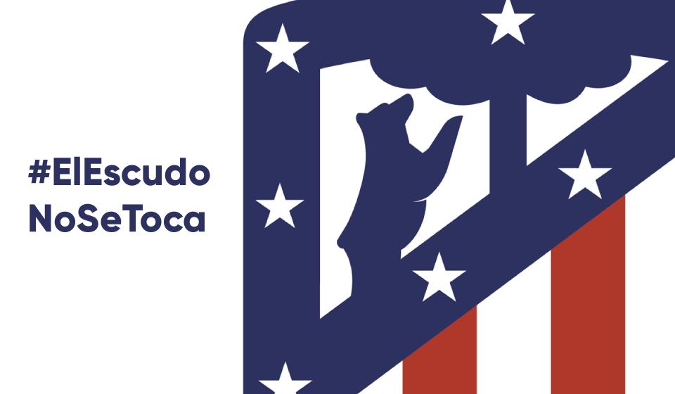 Atlético de Madri Novo Logo
