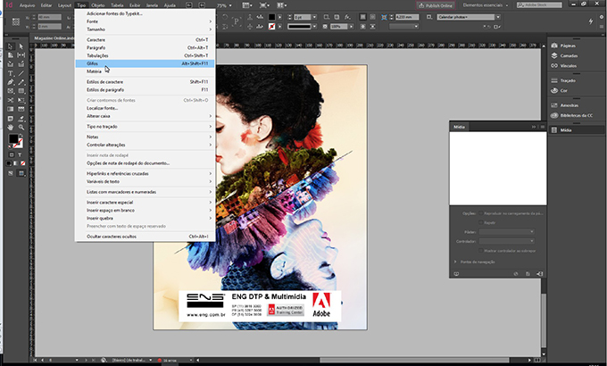 InDesign Workplace by ENG DTP Multimídia