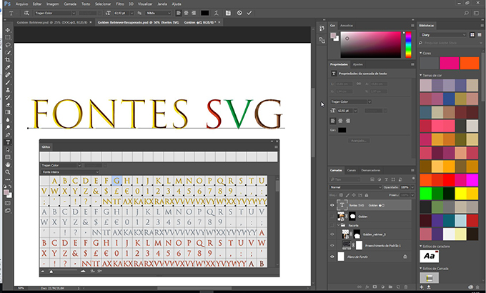 Fontes SVG by ENG DTP Multimídia