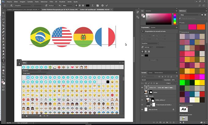 Emojins de bandeiras by ENG DTP Multimídia