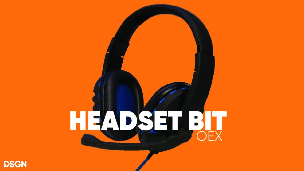 headset bit oex custo x beneficio