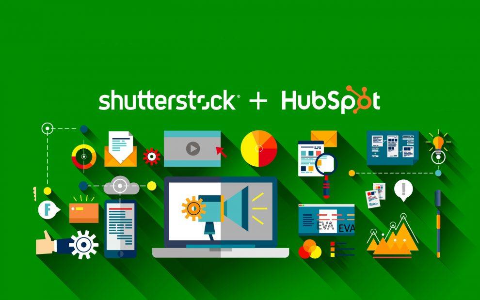 HubSpot e Shutterstock