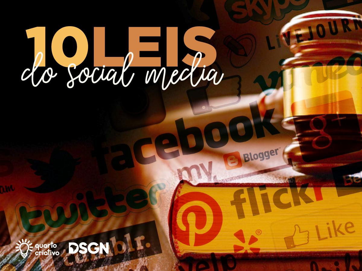 10 leis do social media