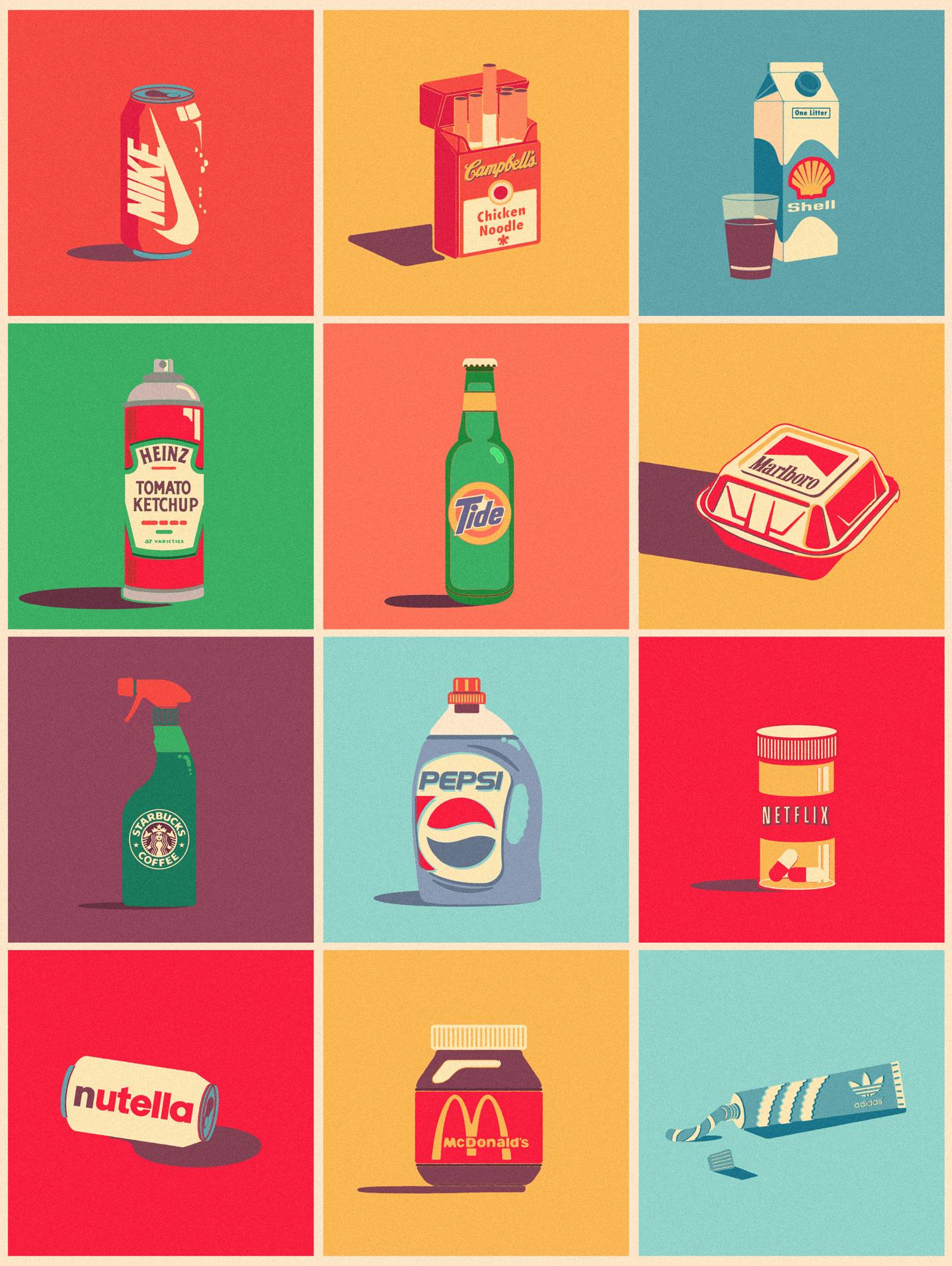 designer mistura marcas | Brand Mix