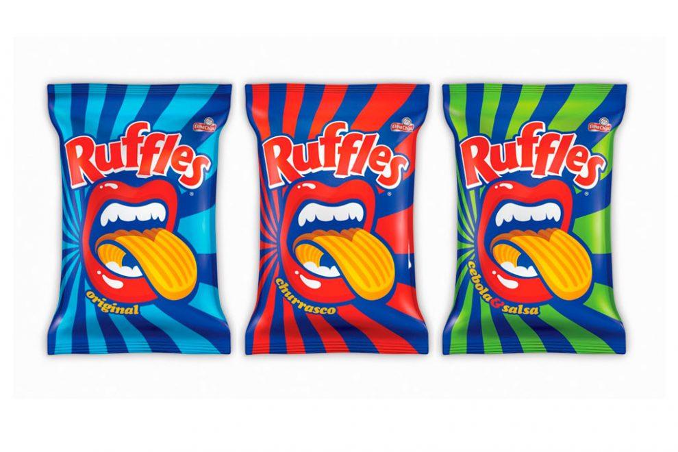 Ruffles apresenta nova identidade visual