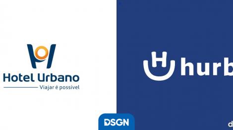 novo logotipo hotel urbano hurb
