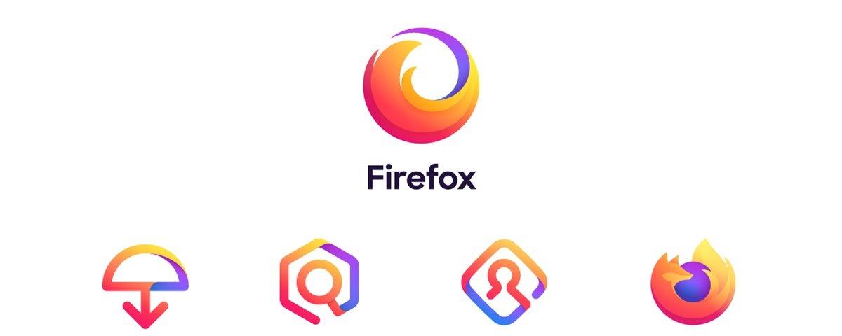 nova identidade visual firefox